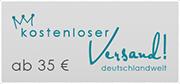 Ab 35 € - kostenloser Versand - deutschlandweit!